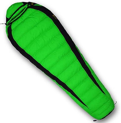 SHUIDAI Sacs de couchage extérieur vers le bas , vert , 1000g