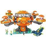 for Age 6+ Building Block Octonauts Octopod Playset Cup-Q Hammerhead Shark Vehicle & Barnacles kwazii Peso Tweak Inkling Vegimals 921pcs Building Brick Set-Without Original Box