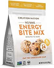 """ENERGY BITE MIX ~ No-bake, Minutes to Make! Makes 24 ENERGY BALLS & BITES. """"Oat Yes Chocolate Chip"""" is Vegan, Soy Free, Gl..."""