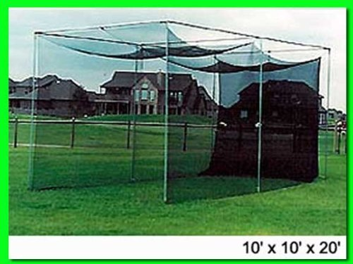 Dura-Pro 10' x 10' x 10' Golf Cage and Golf Net