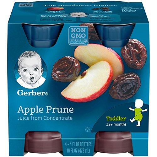 Gerber, Juice, Apple Prune, 4 oz (pack of 4)