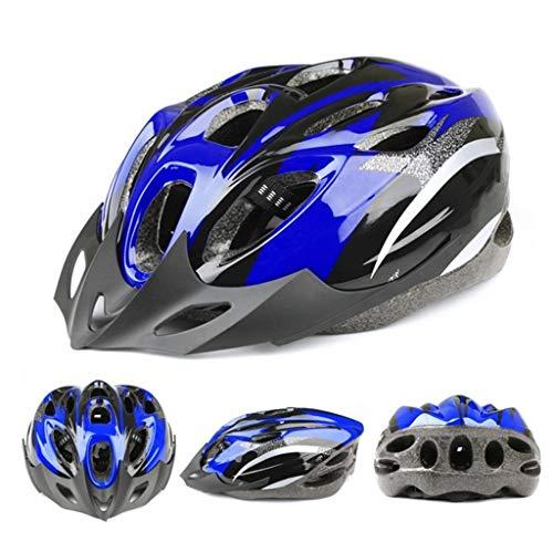 TOPEREUR Fahrradhelm für Erwachsene, Urban Fahrradhelm Damen Herren Helm mit EPS-Körper + PC-Schale, Atmungsaktiv Robust und Ultraleicht, Verstellbar Radhelm(54-61cm)
