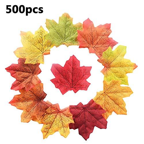 favourall herfstbladeren slinger kunstesdoornbladeren herfst bruiloft decoraties voor oogstfeesten decoratieve kerstverlichting