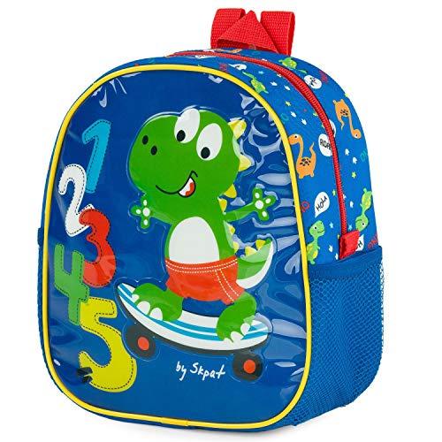 SKPAT - Backpack for Children with Isothermal Lining. Back Name Label 132103, Color Blue