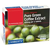 Lamberts Café Verde Puro 400 mg - 60 Tabletas