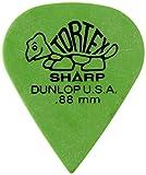 Jim Dunlop 412P73 Tortex Plettro per chitarra affilato, da 0,73 mm, confezione da 12 72 .88 mm