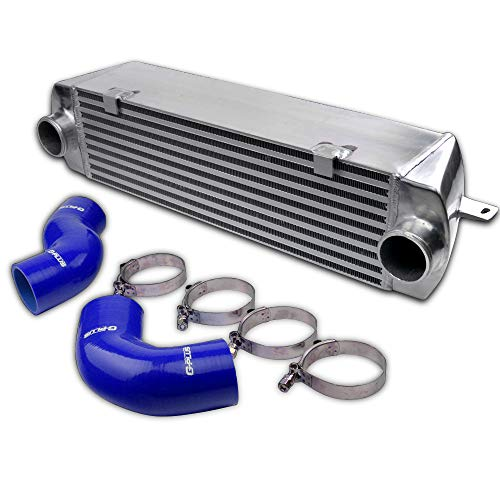 Aluminum Compatible For BMW 135 135i 335 335i E90 E92 N54 2006-2010 Upgrade Performance Twin Turbo Intercooler Kit