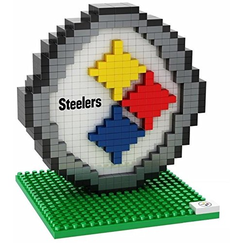 Pittsburgh Steelers NFL Football Team 3D BRXLZ Logo Puzzle