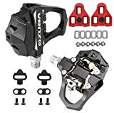 Venzo Sealed Fitness Exercise Spin Bike CNC Pedals Compatible with - Look ARC Delta - Shimano SPD- Toe Clip or Cage - 9/16' Thread for Peloton - Options: Double, Triple, Toe Clips
