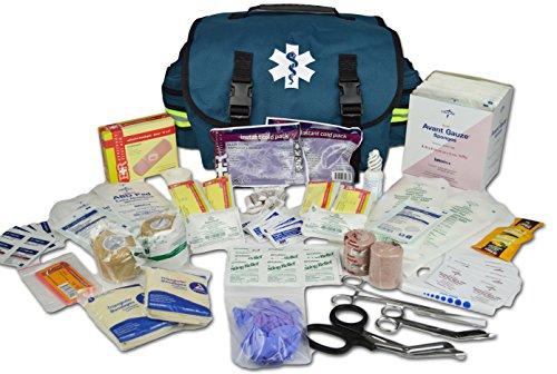 Lightning X Small Medic First Responder EMT Trauma Bag Stocked First Aid Fill Kit A