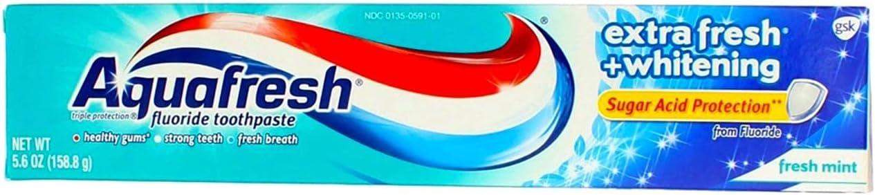 Aquafresh Fluoride Toothpaste Extra Albuquerque Mall Mesa Mall Fresh 5.6 Whitening - Pa oz