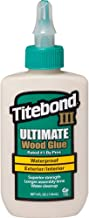 Franklin Titebond III Ultimate Wood Glue 4 Oz Brown, 1412 2 Pack