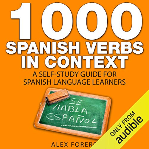 1000 Spanish Verbs in Context audiobook cover art