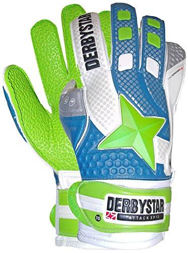 Derbystar Attack XP 13, 6, weiß blau grün, 2678060000
