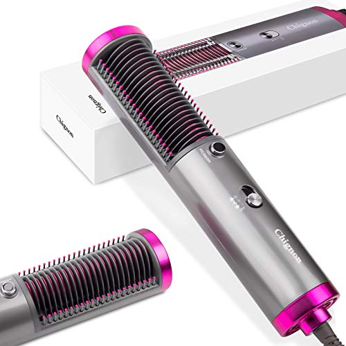 (50% OFF) Hair Straightener Brush with Hair Dryer $20 – Coupon Code