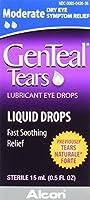 Genteal 潤滑点眼GenTeal涙、中程度の液滴、15ミリリットル
