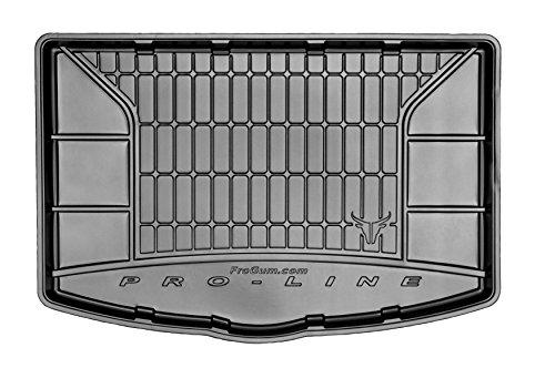 Frogum Kofferraummatte für Yaris III 2011-2019. Maßgefertigte Kofferraumschutz für Dein Fahrzeugmodell.