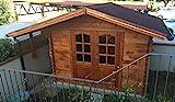 Casita de madera de jardín dekalux 3x 2