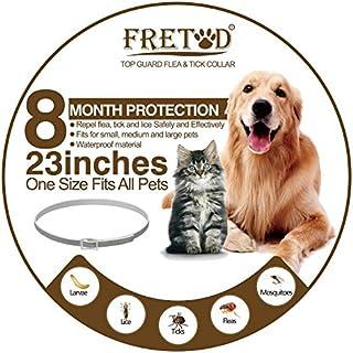 FRETOD Collares Antiparasitario para Perros y Gatos – 65cm