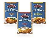 Louisiana Fish Fry, Air Fry Variety Pack, 5 oz (Pack of 6)