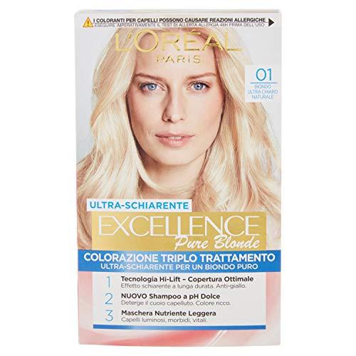 Haarfärbemittel Excellence Creme N 01 Ultra Light Natürliche Blond