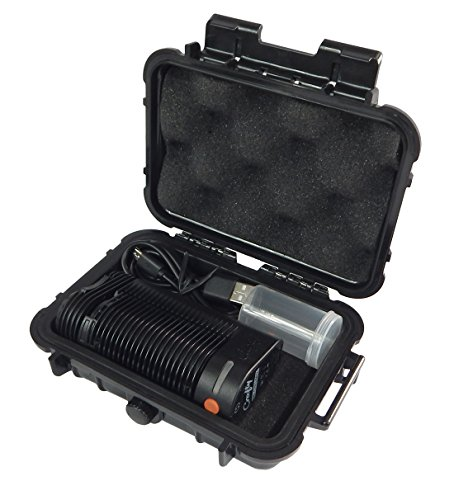 CloudTen Storz and Bickel Crafty Case Compatible with Storz and Bickel Crafty, Charge Cable and Included Herb Canister in Smell Proof Odor Resistant Protective Airtight Carry Box