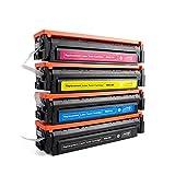 BESHENG Cartucho de tóner para HP 216A W2410A W2411A W2412A W2413A Uso para Color Laserjet Pro MFP...