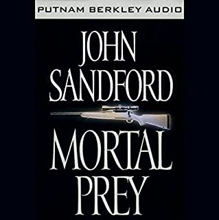 Mortal Prey audiobook cover art