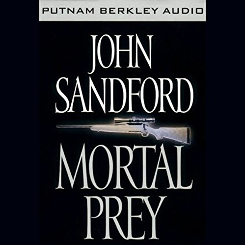 Mortal Prey audiobook cover art