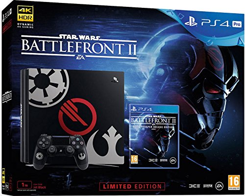 Playstation 4 Pro Console 1tb + Star Wars Battlefront 2