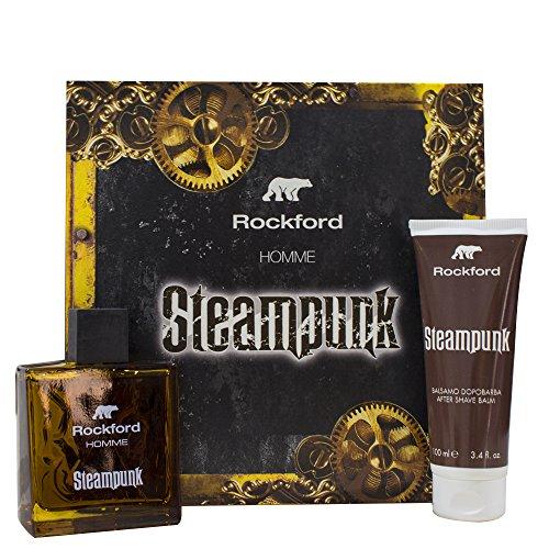 Rockford Cofanetto Steampunk Eau De Toilette + After Shave - 700 ml