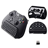 Megadream [Audio Compatible] Xbox One Controller Keyboard, 2.4G Mini Wireless Online Gaming Chatpad with 3.5mm Jack – Perfect Listen Music for Microsoft Xbox One/Xbox One S PC