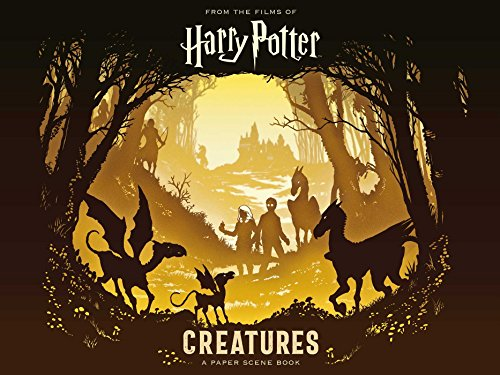 Harry Potter: Creatures Paper-Cut Book: A Paper Scene Book