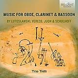 Musique pour Hautbois Clarinette et Basson