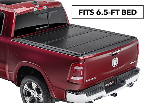 "Undercover Flex Hard Folding Truck Bed Tonneau Cover | FX31004 | Fits 02-20 Dodge Ram 1500-3500 6'4"" Bed"