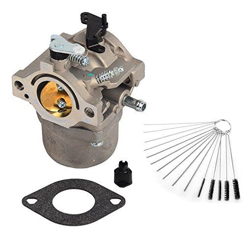 oxoxo 799728carburador Carb con 4pulgadas cepillo de tubo de nailon de juntas para BRIGGS & Stratton 498027498231499161494502494392