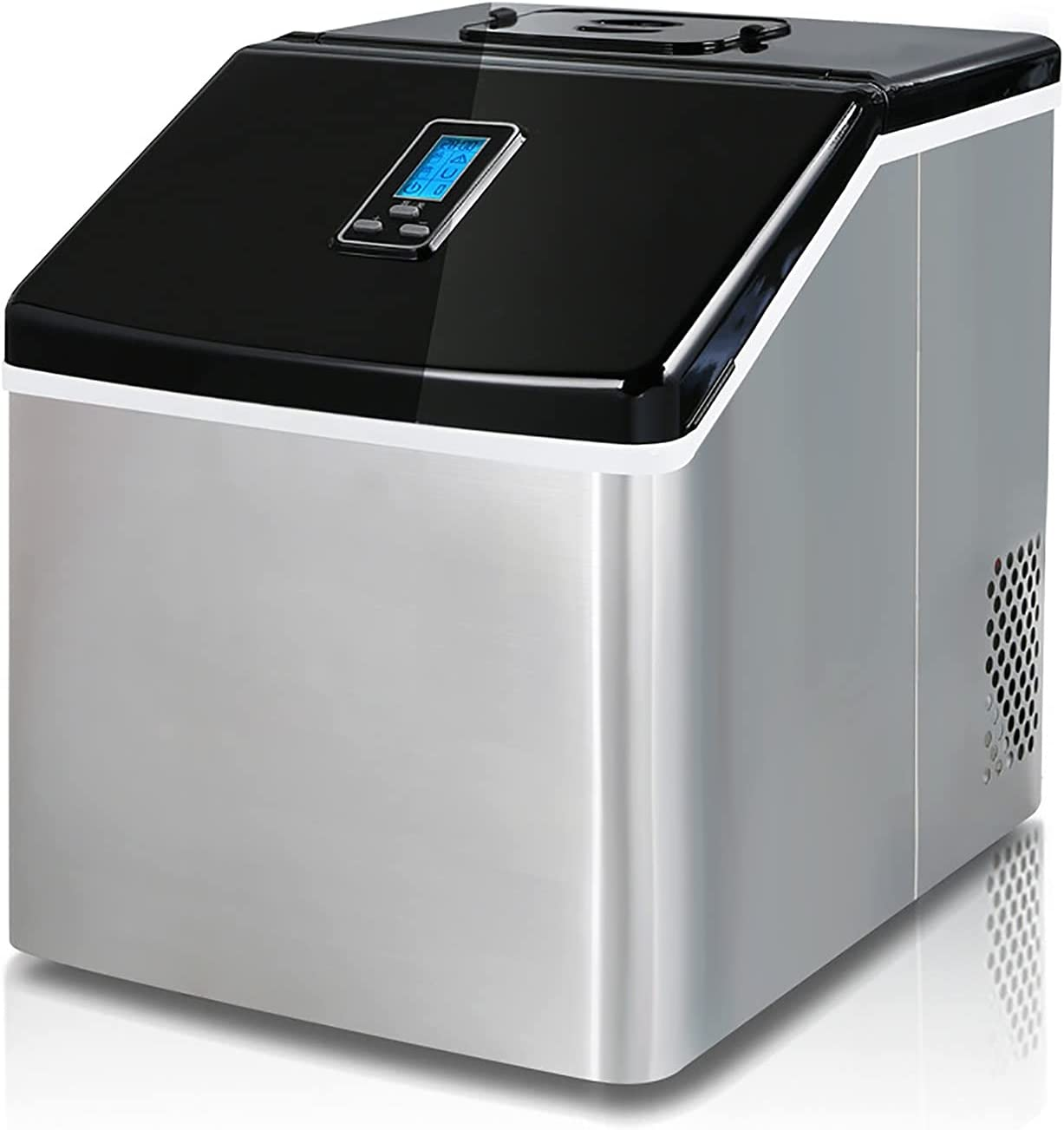 QERNTPEY Ice Maker Bombing free shipping Machine Milk Commercial Dealing full price reduction Tea Shop Sq Small