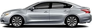 Dawn Enterprises FE-ALT13 Finished End Body Side Molding Compatible with Nissan Altima - Slate Metallic (KBC)