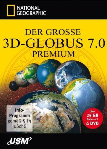Preisvergleich Produktbild Der große National Geographic 3D-Globus 7.0 Premium