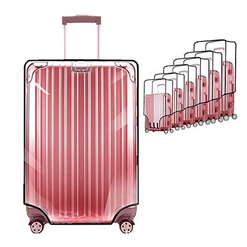 """Custodie protettive per valigie di ZKSport Travel Luggage Protector PVC trasparente impermeabile Anti-polvere antigraffio da 20 a 30 pollici (20""""(12.99-14.57""""L x 9.00-10.63""""W x 18.9-20.08""""H))"""