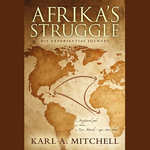 Afrika's Struggle audiobook cover art