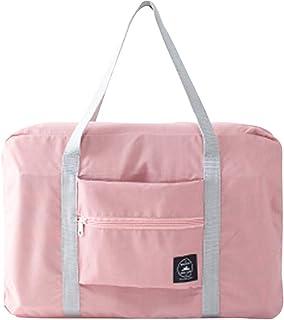 bulingbulingseason Travel Carry On Duffle Bag Large Foldable Luggage Clothes Storage Weekender Shouder Bag Overnight Handbag