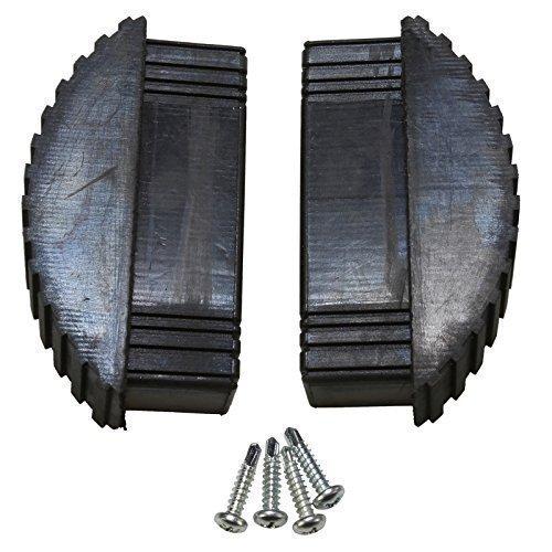 4YourHome 2 x Universal escalera de extensión sección patas de goma y suelo Rebecca hose + tornillos: Amazon.es: Bricolaje y herramientas