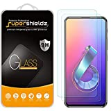 (2 Pack) Supershieldz Designed for Asus ZenFone 6 (ZS630KL) Tempered Glass Screen Protector, 0.33mm, Anti Scratch, Bubble Free
