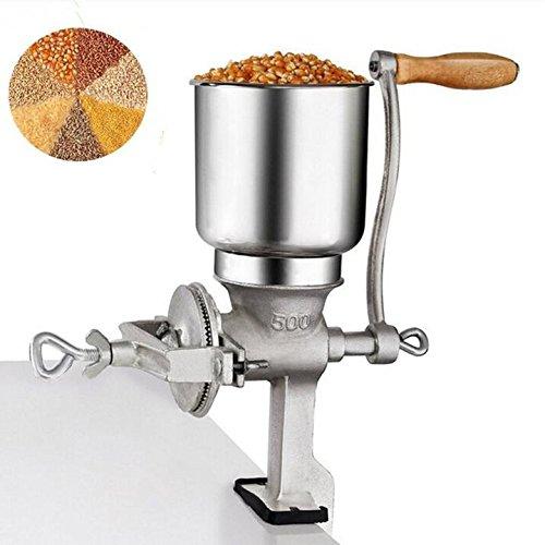 Handkörnermühle Manuelle Getreidemühle Bier Brauwerkzeug Hafer Mehl Kaffee Lebensmittel Weizen Handmühle Kurbel Guss