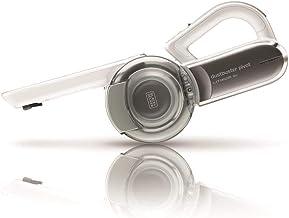 BLACK+DECKER Aspirateur de table à main sans fil, 35W, Filtre auto-nettoyant, Prolongateur intégré, 440 ml, 18V, PV1820L-QW