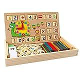 Babyhelen Juguetes de Madera Montessori Math Contando Stick Calculación...