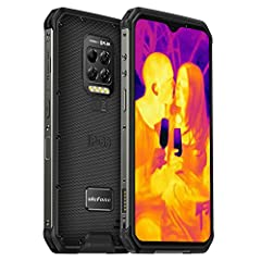🌋Thermal Imaging Camera & Endoscoped Supported: Thermal Imaging Camera: The integrated FLIR thermal imaging camera with MSX technoloay on the Ulefone Armor 9 rugged phones can detect obiects in the scene and create thermal images based on temperature...