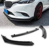 Stay Tuned Performance PU/665/PBK Painted Black Front Bumper Body Kit Lip 3PCS Compaitble with 2014-2018 mazda6