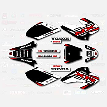 XR80 Xr100 Black & Red Shift Racing Graphics fit 2001-2003 Honda XR 80 100 01-03